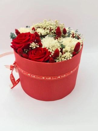sombrerera flor preservada