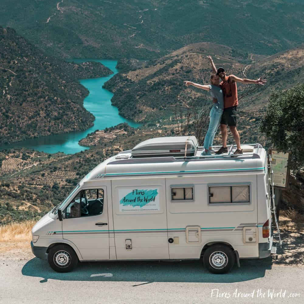 Douro Valley by camper van