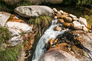 Peneda-Gerês National Park: waterfall next to Black Dwell