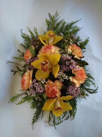 centro de orquideas amarillas Flores online vigo