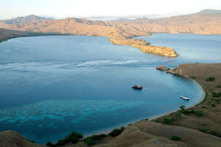 Gili Lawa island entrance to Komodo National Park