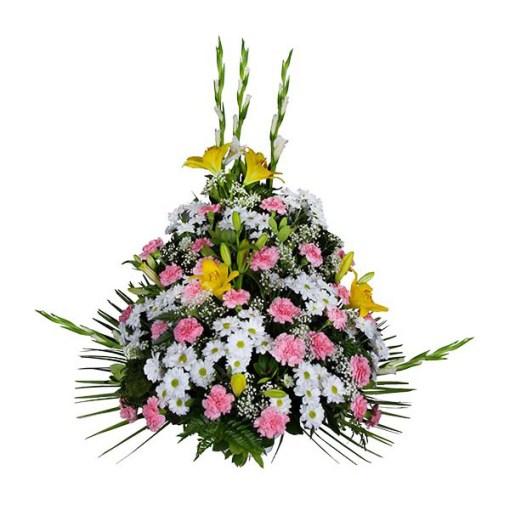 centros de flores para difuntos precios
