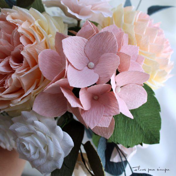 hortensias flores para siempre
