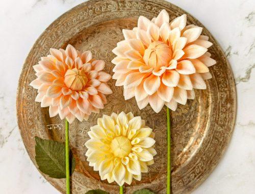 razones para comprar flores de papel, flores para siempre, flores de papel crepe, ramos de papel, ramos de novia de papel,