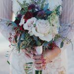 tipos de ramos de novia nosegay bouquet