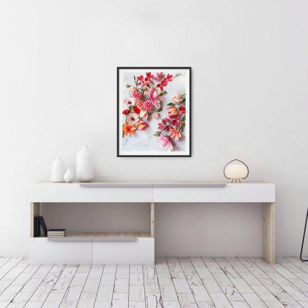 archivos descargables botánicos, flores para siempre, flores de papel crepe