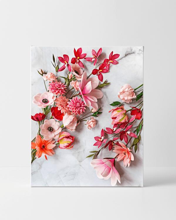 flores para siempre, archivos descargables digitales, flores para siempre, flores de papel crepe