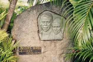 Tombe de Jacques Brel