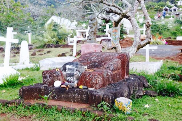Tombe de Paul Gauguin