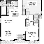 Sea Shack First Floor Plan