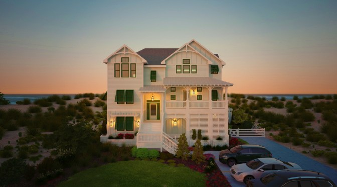 A Southern Living Builder Showcase Home 6937 3-D Rendering