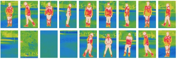 Action Recognition from Thermal Images