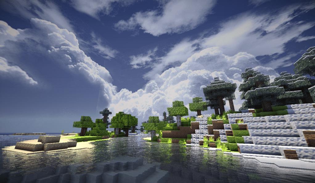 Minecraft Eau Raliste Floriangaming