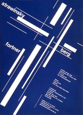 Travaux de système de grille de Josef Müller-Brockman