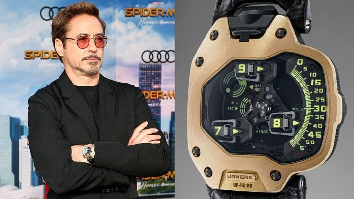 Grafik - 5 Uhren, Hollywood, Karriere