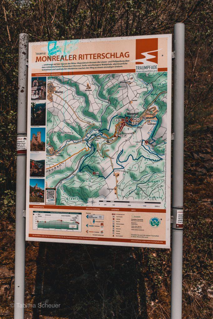 Monreal Wanderweg   Wanderwege in der Eifel