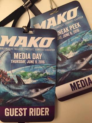 Media Day Badges for Mako