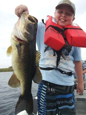 Another Orlando bass caught near Disney fishing a shiner