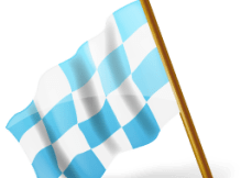 map-marker-chequered-flag-left-azure-icon