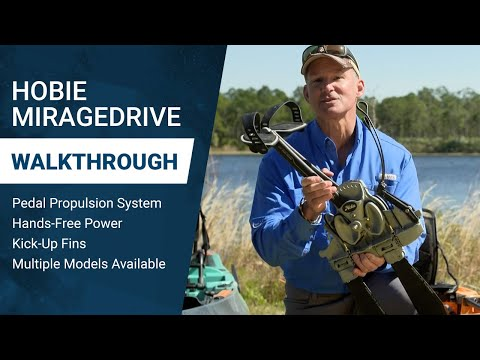 Hobie Mirage Drive System: Next Level of Pedal Power for Kayaks