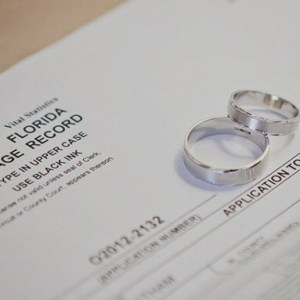 Ordering Certified copies of your Florida Marriage License
