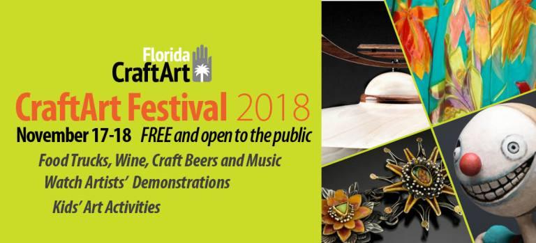 CraftArt 2018 craft art festival Downtown St Pete