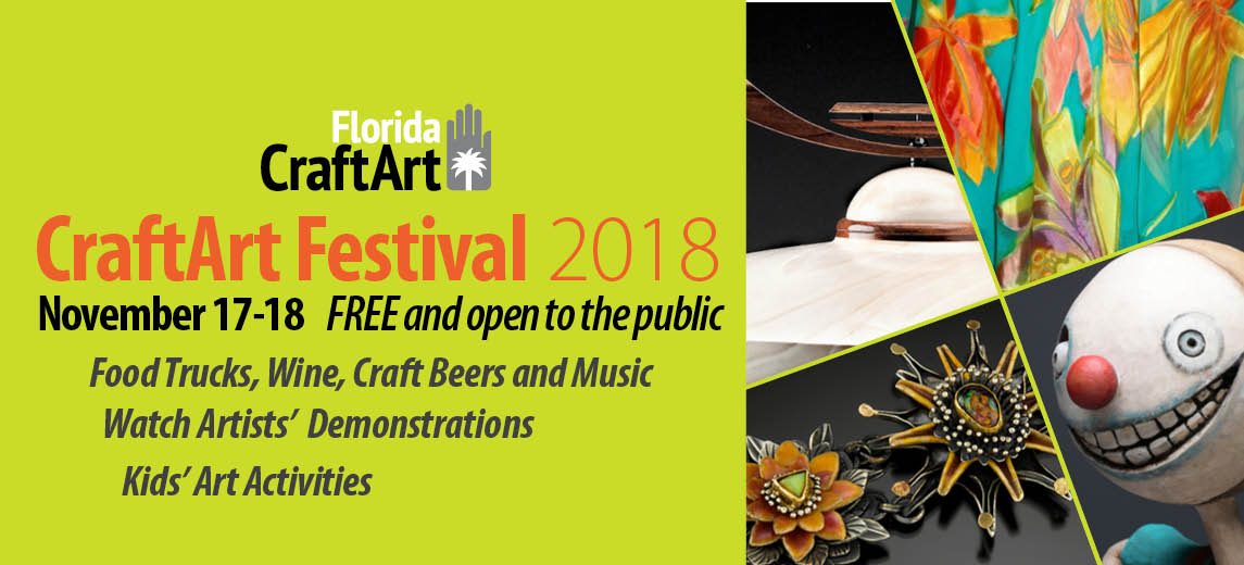 CraftArt 2018 craft art festival Downtown St Pete