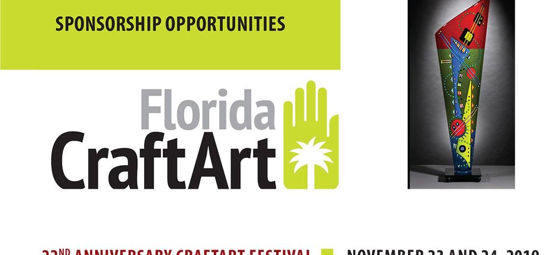 CraftArt Festival SPONSORSHIP header-2019
