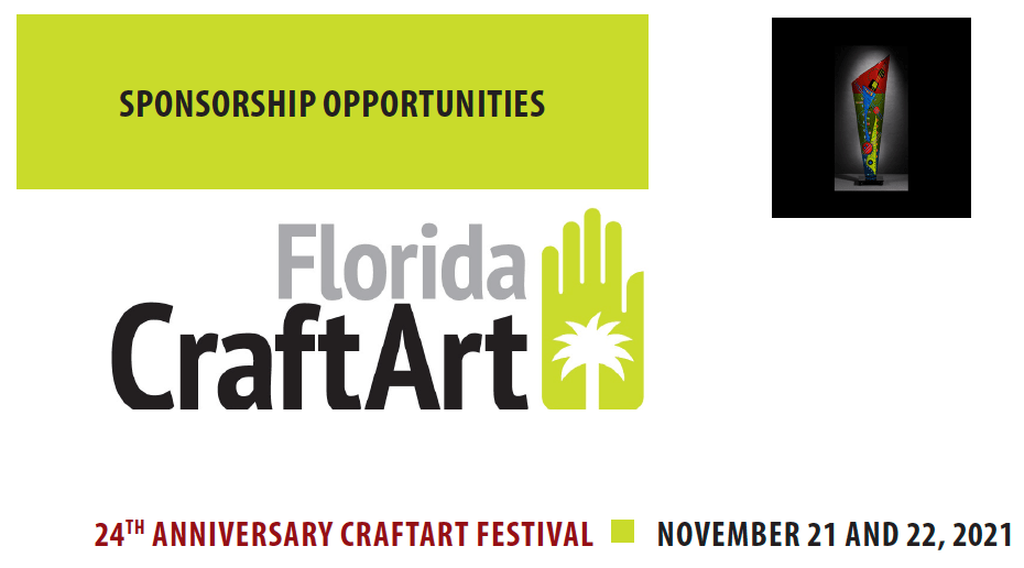Become a CraftArt Sponsor