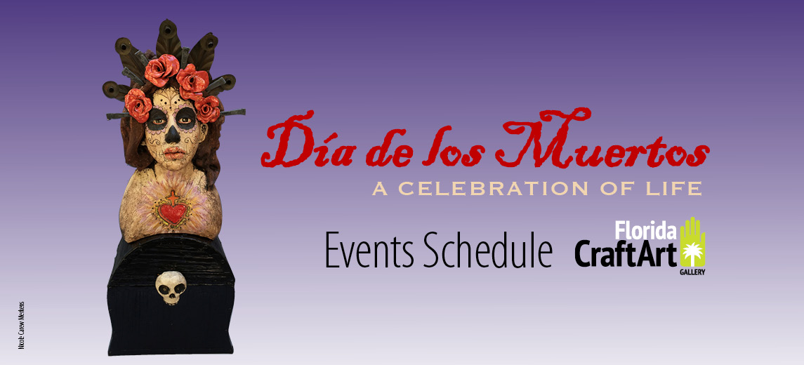 Day of the dead events in St Pete at Florida Craftart