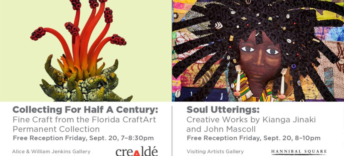 crealde permanent exhibition florida CraftArt web header