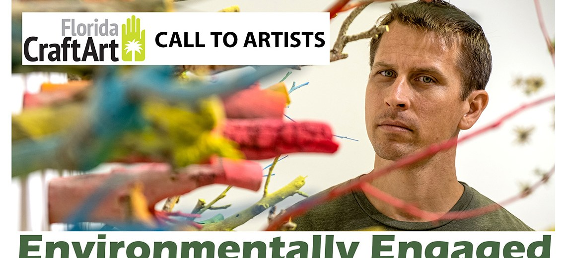 florida craft art Environmentally Engaged exhibition