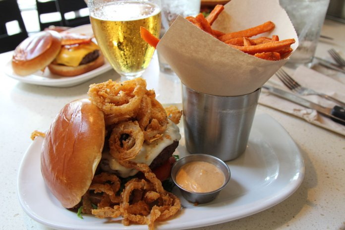 people choose burgers over healthier options