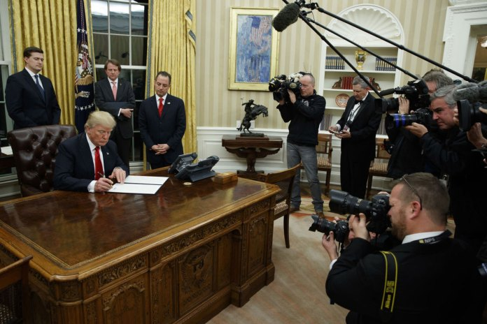Trump's First 100 Days: A President's Very Public Education
