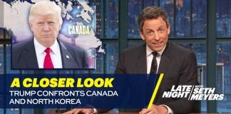 Trump Confronts Canada