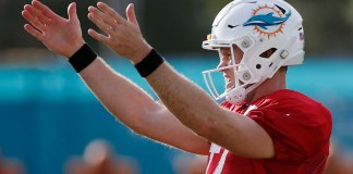 Knee Surgery Is an Option for the Miami Dolphins Quarterback