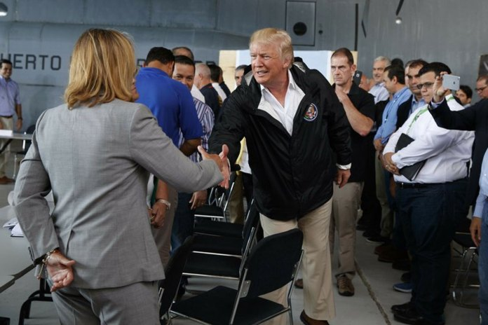 President Trump's Visit to Puerto Rico After Irma