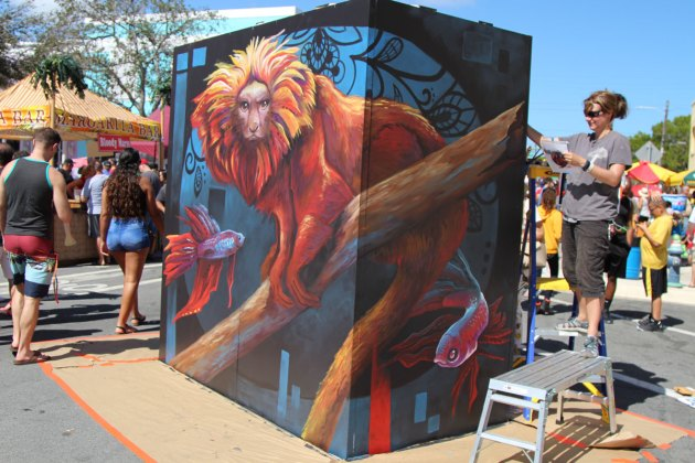 The Best of Lake Worth Street Painting Festival 2018