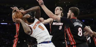 Knicks Blow out Heat 122-98, Rookie Dotson Scores 30