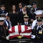 McCain Tributes Echo with Criticism of Trump