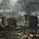 Officials Try to Account for Hundreds Missing in fire's Wake