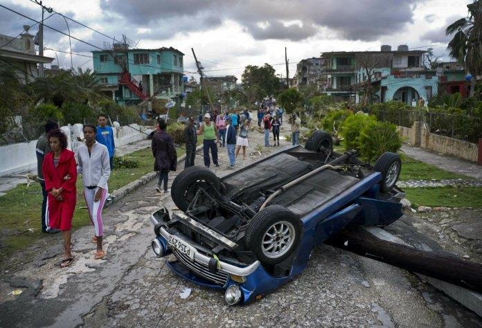 Tornado Hits Havana; at Least 172 Hurts, 3 Dead