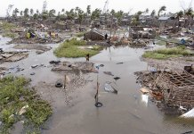Cyclone Slams into Mozambique, Destroys Entire Villages