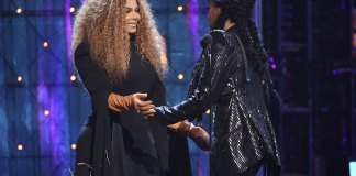 Jackson, Nicks Enter Hall with Encouragement for Women