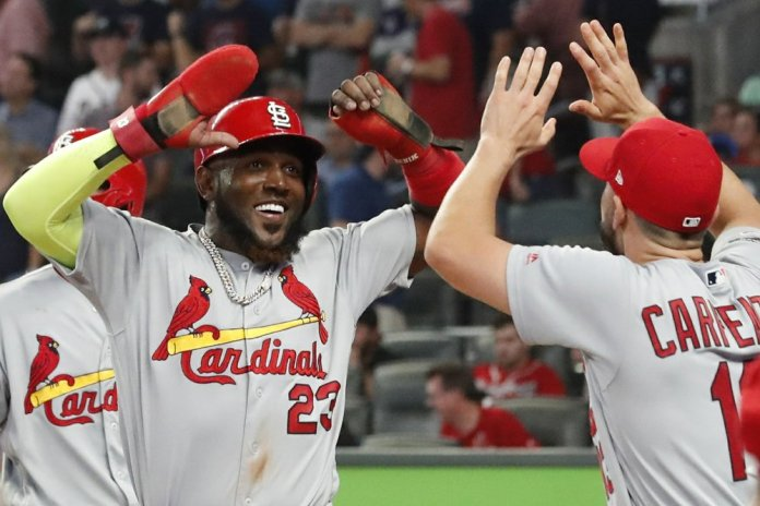 Cardinals Score 4 in 9th, Hold off Braves 7-6 in NLDS Opener