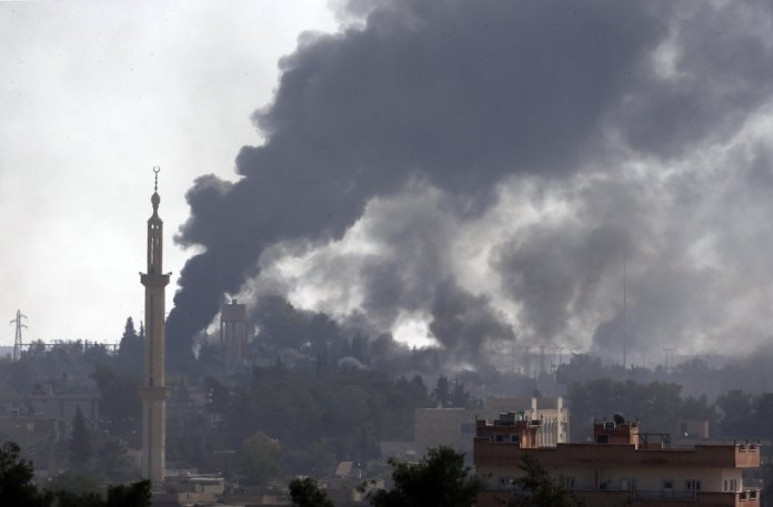 Turkey Presses Syrian Assault as Thousands Flee the Fighting
