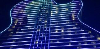 Unique Guitar-shaped Hotel Opens at Seminole Casino