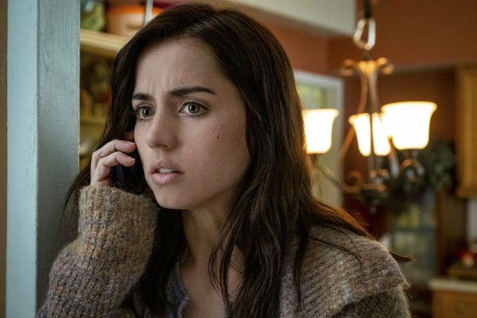 Ana de Armas in a scene from Knives Out