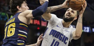Fournier leads Magic over Cavs for 1st road win of season