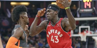 Powell Leads Raptors to 6th Straight Win, 90-83 over Magic